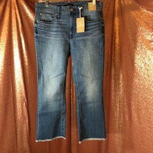 J. Crew Eco Billie Demi Boot Crop Jeans